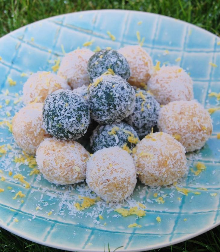 bliss balls de limao