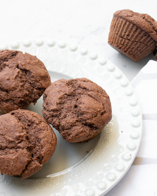 Receita Laranja-Lima Muffins Alfarroba