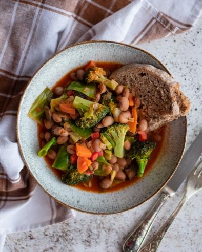Receita simples de feijoada de legumes