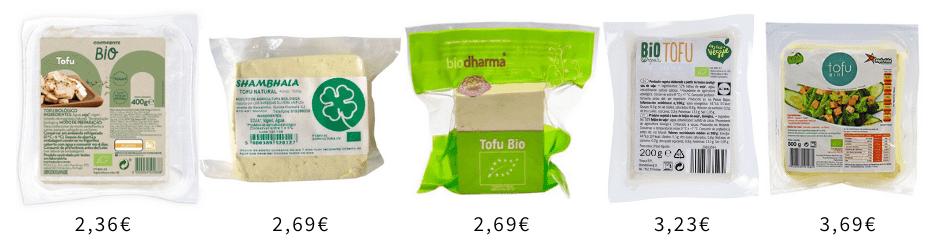 5 melhores marcas tofu Portugal