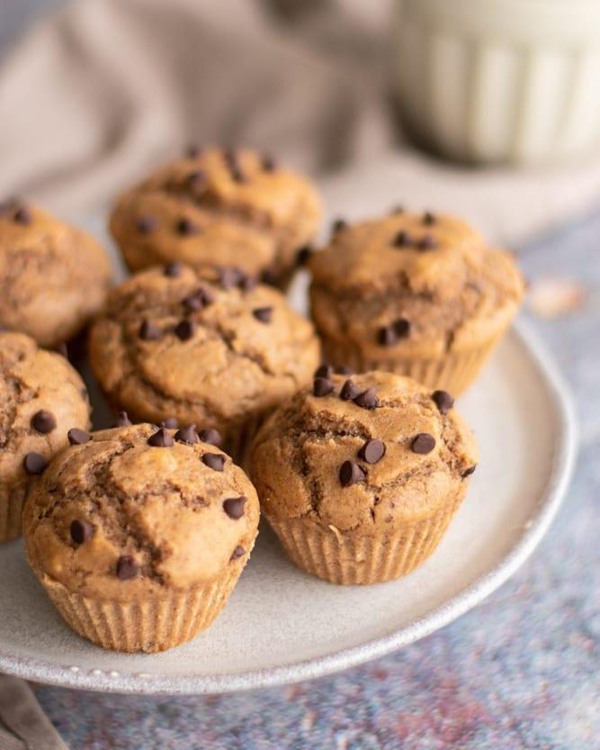 receita de muffins com casca de banana
